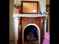 The Duck House Cottage, Fireplace